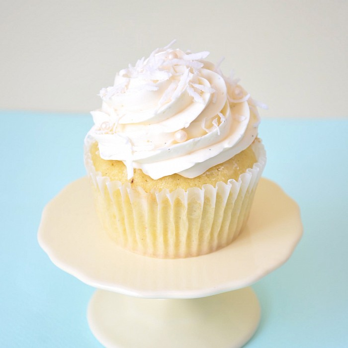 Coconut Cupcakes | Petra Cakes