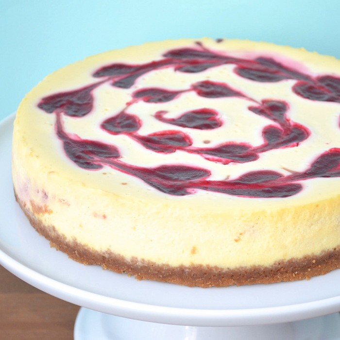 New York-Style Cheesecake With Cranberry-Cointreau Sauce Recipes ...