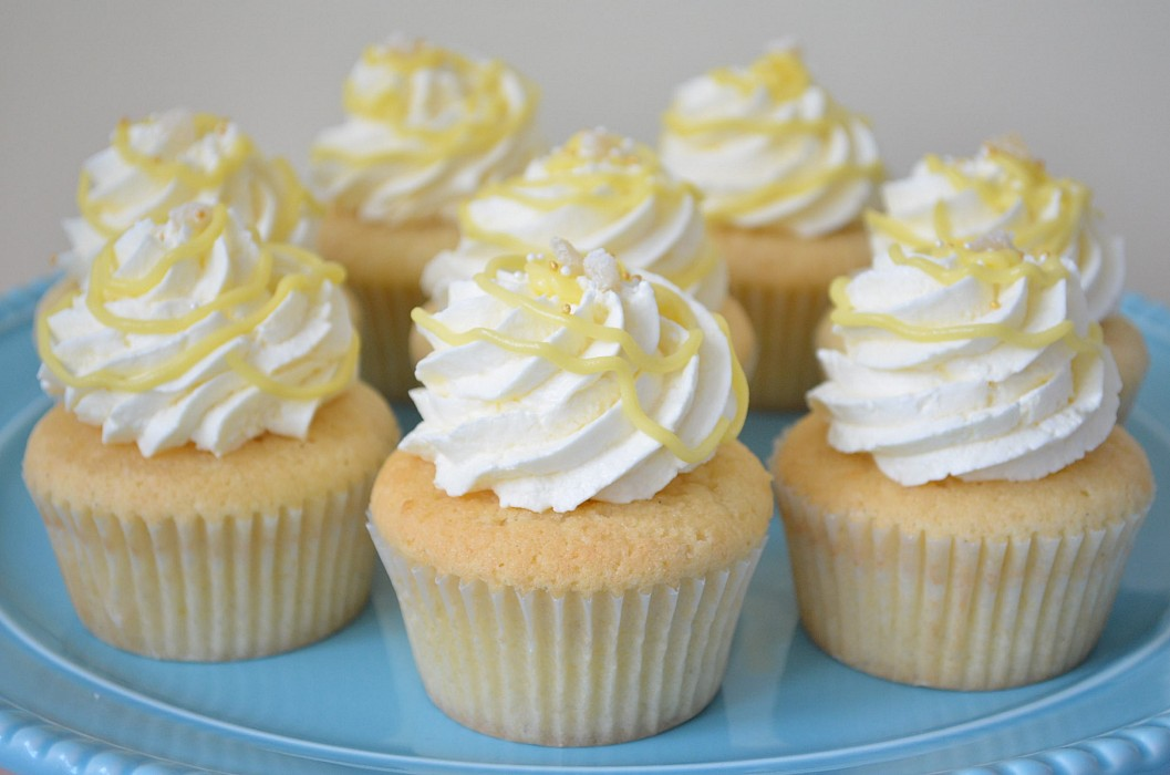 Lemon Salt Lemon Cupcakes Recipe — Dishmaps